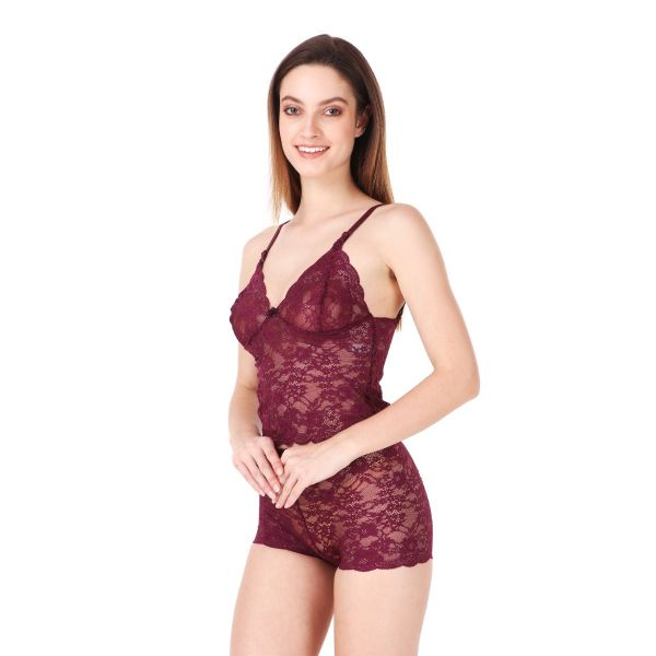 Women's Comfy Cami Top and High Waist Lace Panty Set