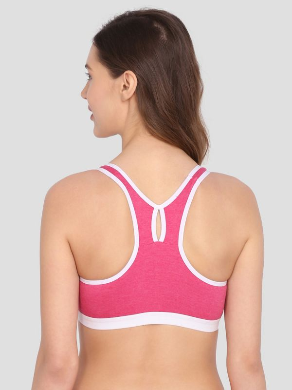 Women's Non-Wired Double Layered Sports Bra