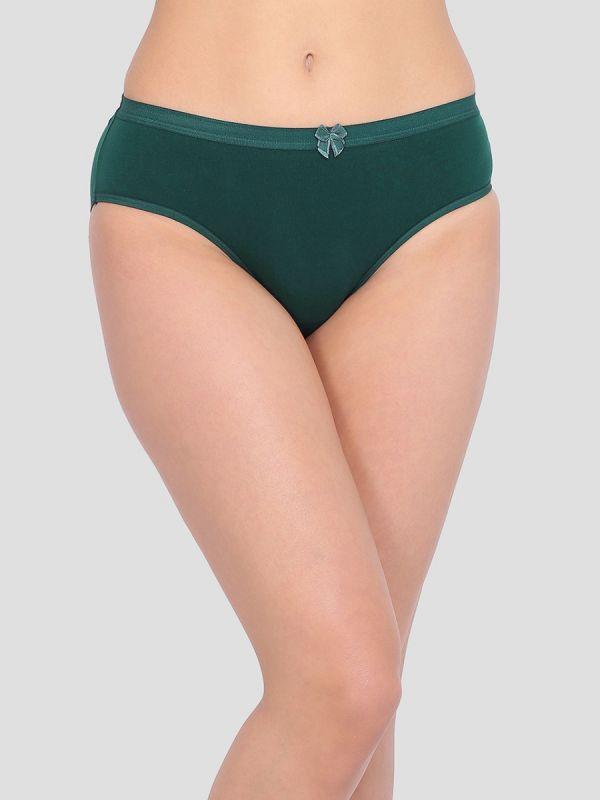 Women's Mid Waist Regular Cotton Panty