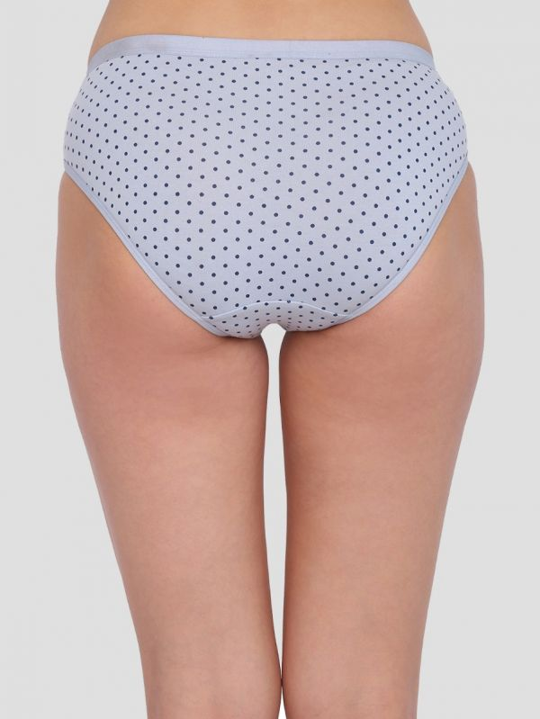Women's Mid Waist Polka Dot Panty