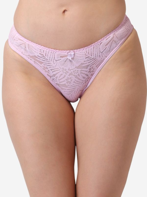 Women Lace Mid Coverage Panty (Pack of 3)