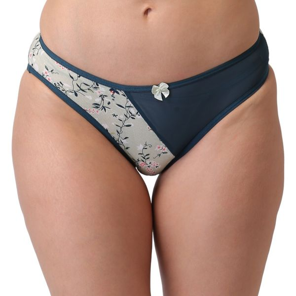 Women's Low Rise Cotton Powernet Everyday Panty (Pack of 3) Orange,Peach,Green