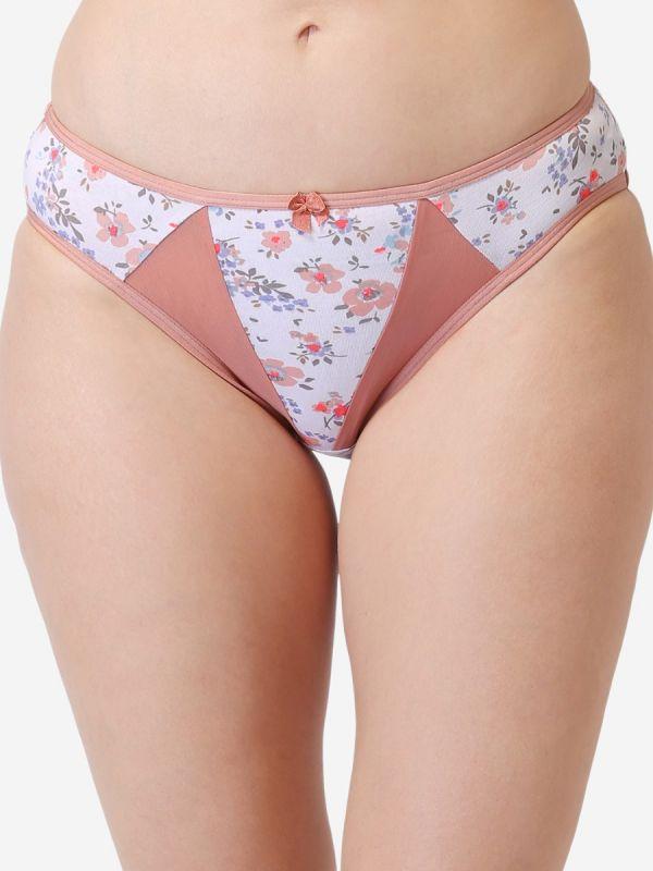 Net Women's Low Waist, Mid Coverage Panty