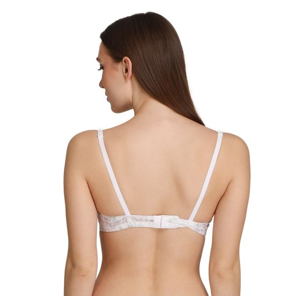 Women Lightly Padded Multiway Bra Non-Wired Pack of 3