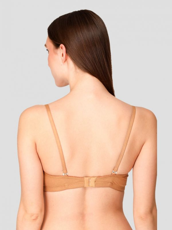 Women's Cotton Lightly Padded Full Coverage Non-Wired Everyday Bra