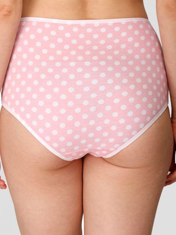 Women's High Waist Hipster Cotton Panty